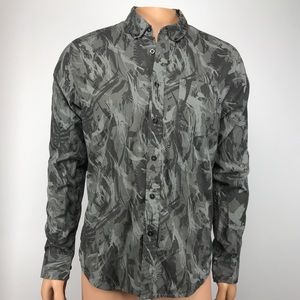 Nike SB Button Down Shirt Size Medium